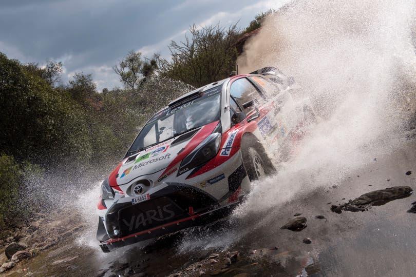 El Toyota Yaris versión rally