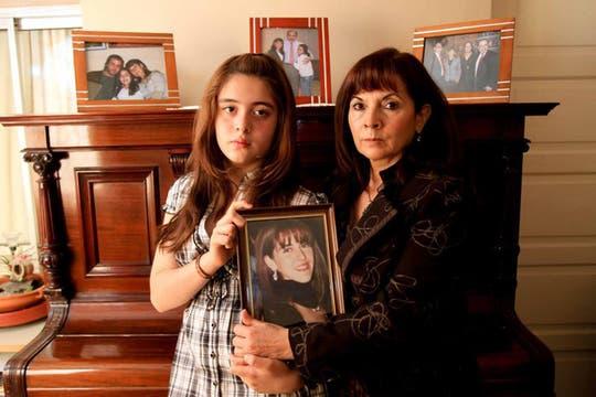 Susana, junto a su nieta Micaela. Foto: Archivo / Facebook / Susana Trimarco