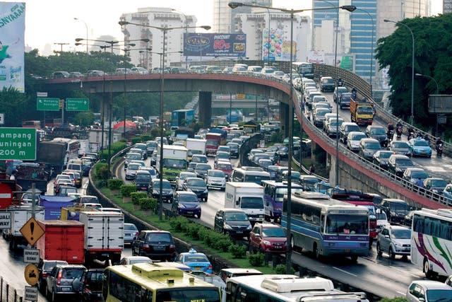 En grandes ciudades el auto no es siempre la mejor solución