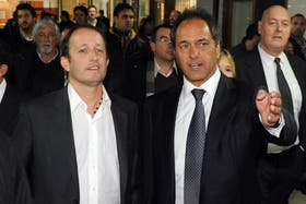 Scioli volvió a apoyar a Insaurralde