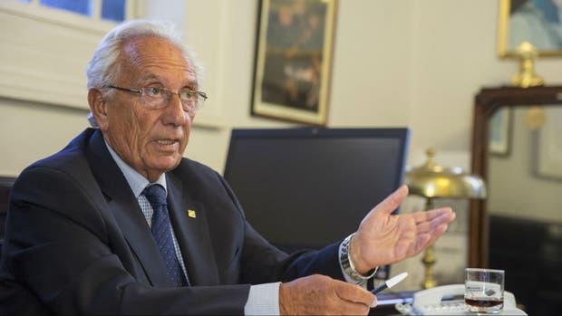 Héctor Recalde, jefe de bloque de Diputados del FPV