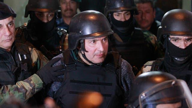 El ex secretario de Obras Públicas, José Lopez, está detenido