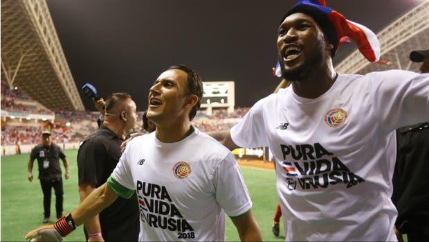 Costa Rica clasifica al Mundial 2018 tras empatar con Honduras