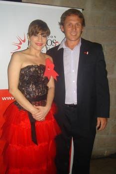 Carolina Papaleo, solidaria también, asistió a la gala de Helios. Foto: Gentileza Fundación Helios Salud