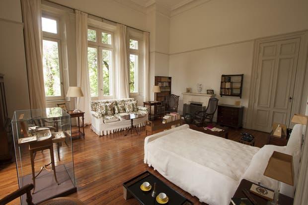 En la primera planta, el cuarto de Victoria se mantiene intacto.