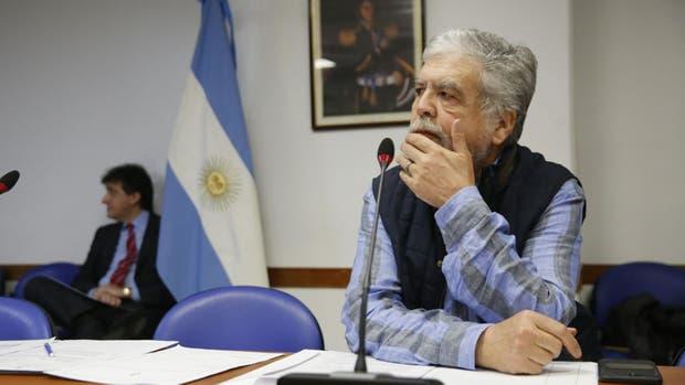 Julio De Vido en la Comisión de Energia