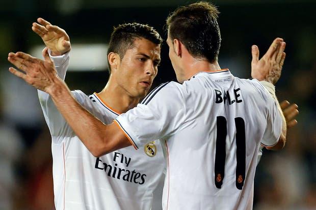 Bale y Cristiano la formula de gol de Real Madrid