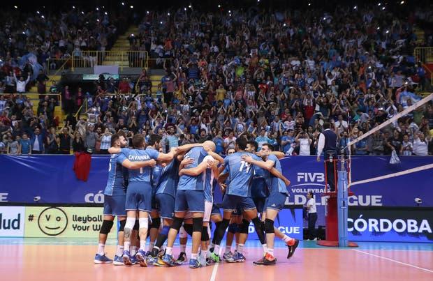 Argentina logró un histórico triunfo en Córdoba