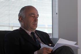 El embajdor de Holanda, Hein de Vries, en una entrevista con LA NACION