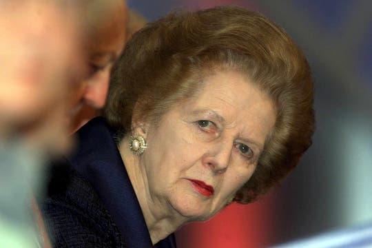 En el 2000, durante una reunión con el Partido Conservador. Foto: Archivo