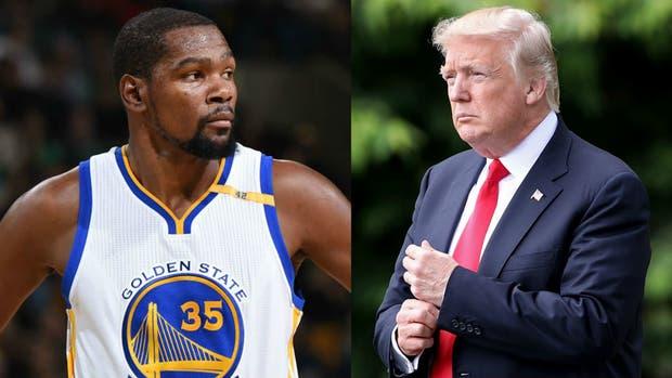 Kevin Durant: Yo no respeto a Trump