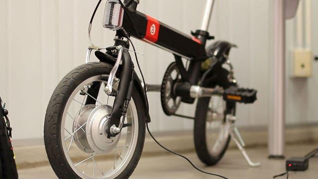 Cmyk, la bici que Macri le regaló a Obama