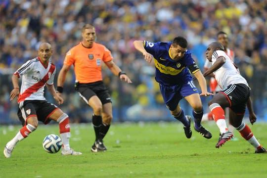 River le ganó a Boca 2 a 1 y es escolta en el torneo Final.Volvió a ganar en la Bombonera después de 10 años.