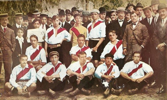 El equipo amateur de River en 1908