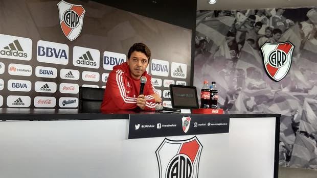 Marcelo Gallardo y su guiño para que se sume Darío Cvitanich