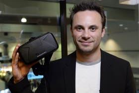 Brendan Iribe, CEO de Oculus VR, la compañía que creó el Oculus Rift
