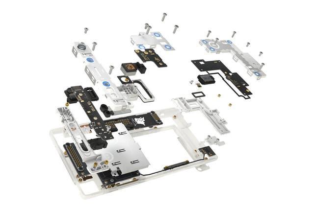 La idea del Fairphone es que sea posible reemplazar componentes sin cambiar todo el equipo