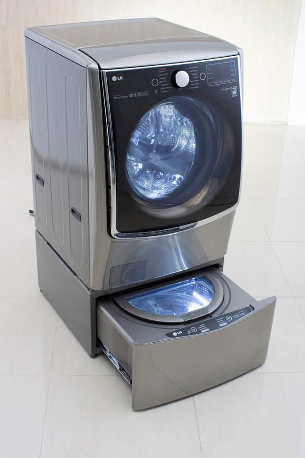 El lavasecarropas LG TwinWash ya esta disponible en la Argentina