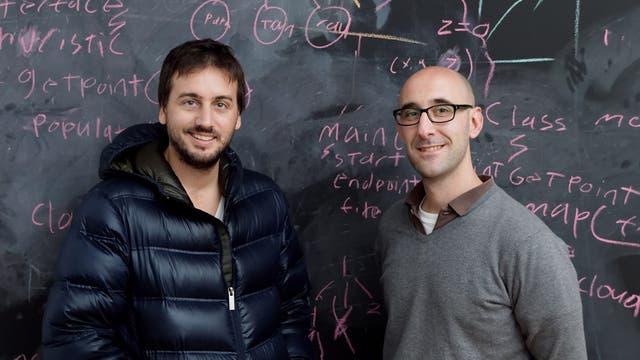 Enrique Cortés Funes (izq.) y Alejandro Repetto, dos de los fundadores de Space AI