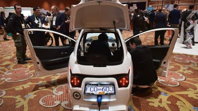El Electra Meccanica SOLO: automóvil eléctrico para una persona