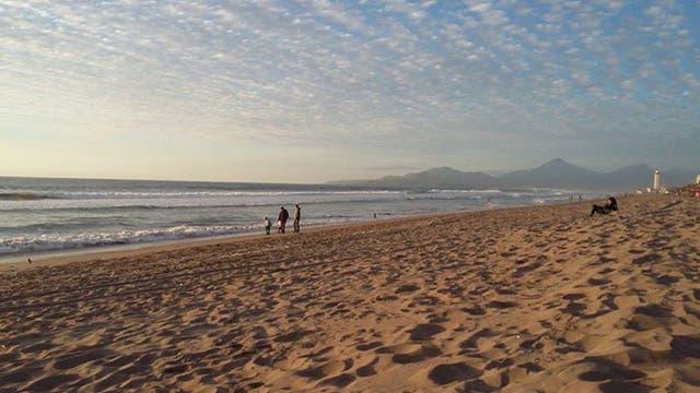 La Serena, una de las playas elegidas por los turistas argentinos que fueron a Chile