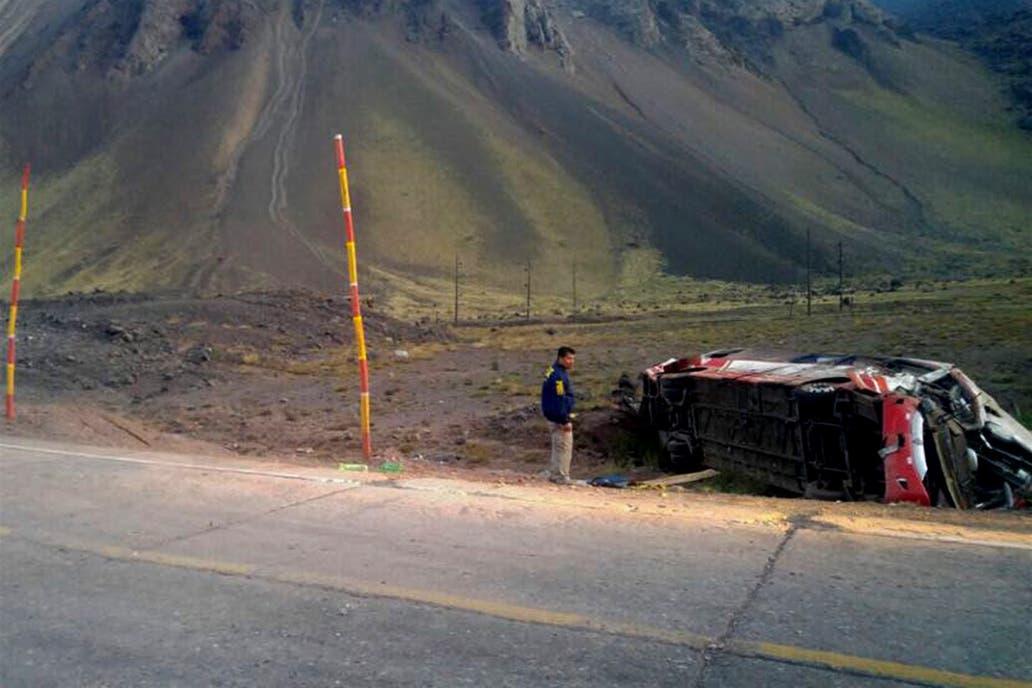 Chofer que protagonizó accidente en Mendoza consumió drogas antes del viaje