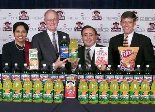Indra Nooyi, directora ejecutiva de Pepsi. Foto: Archivo