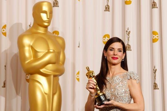 Sandra Bullock, Mejor Actriz. Foto: REUTERS