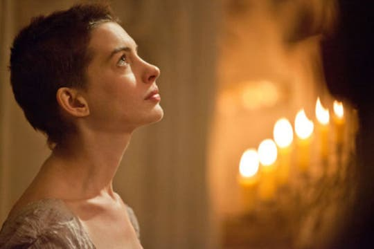 Anne Hathaway, como Fantine. Foto: USA Today