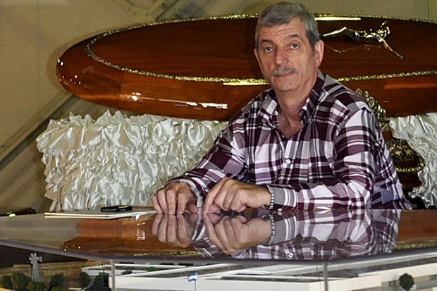 Héctor Massarutto, titular de la empresa Heccar, en Funexpo