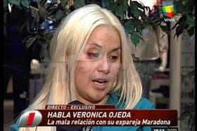 Verónica Ojeda se cansó de hacer silencio y en las últimas horas habló de todo en diferentes entrevistas.