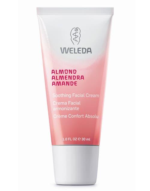 Crema Facial armonizante de Almendra (Weleda, $105).