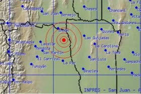 Un fuerte sismo de 5,5 grados en la escala Ritcher se registró en Mendoza
