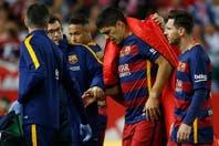 Suárez se lesionó y rompió en llanto en el banco: ¿llega a la Copa América?