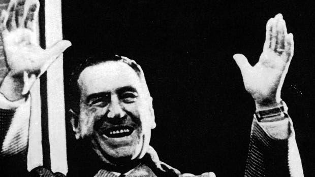 El ex presidente, Juan Domingo Perón