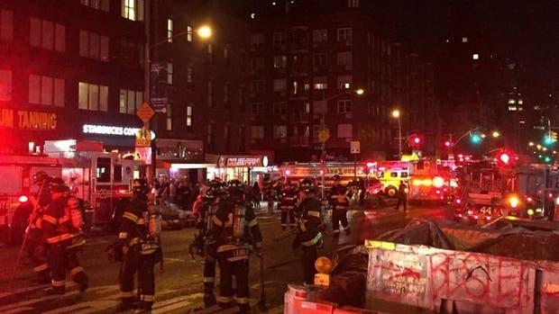 Al menos 15 personas heridas tras el estallido en el barrio de Chelsea