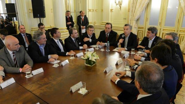 Mauricio Macri encabezó un encuentro en Casa Rosada con motivo del Día Internacional del Turismo.
