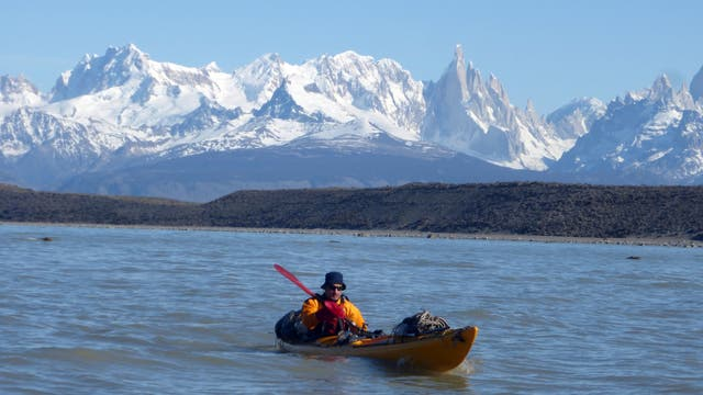 Travesía en kayak. Foto: Gentileza Leonardo Proverbio