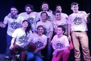 Augusto Uceda Vargas y Lucas Ghiglione integran el grupo de Impro Nacional.