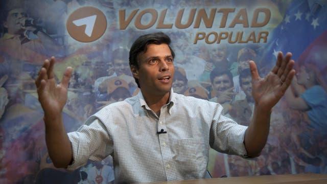 López es titular del partido Voluntad Popular desde 2009; en 2012 quiso ser candidato a la presidencia, pero se bajó para apoyar a Henrique Capriles