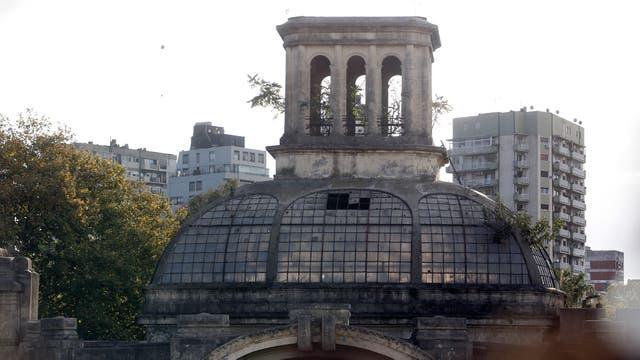 El único edificio que queda en pie de los festejos de 1910