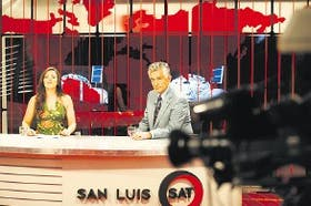 El gobernador de San Luis fue el invitado estelar del inicio de la transmisión en el estudio porteño
