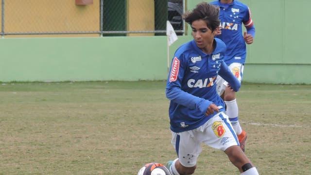 Riquelmo, el joven de Cruzeiro