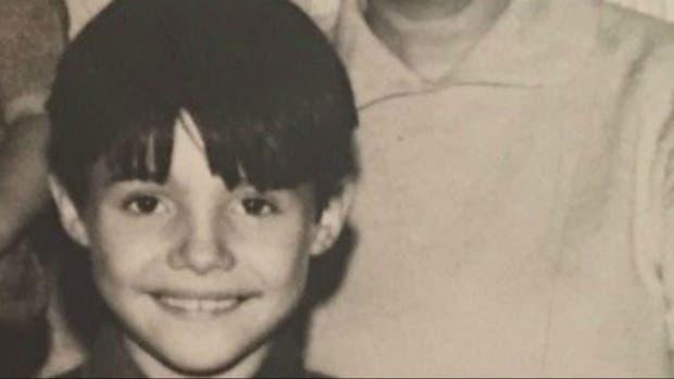 Un niño sonriente