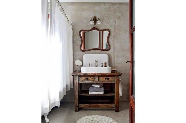 Baños Hermosos Fotos:IDEAS: Hermosos baños de estilo rústico