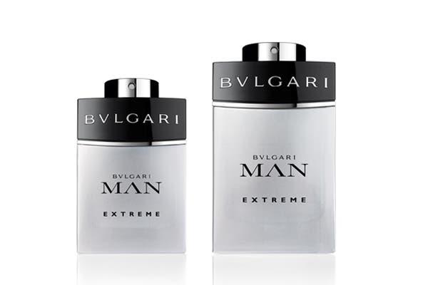 Bvlgari Man Extreme 100 ml ($600) , dedicado a un hombre que experimenta emociones extremas, con un espíritu contemporáneo, sensible a las últimas tendencias. Foto: Brandy Comunicación