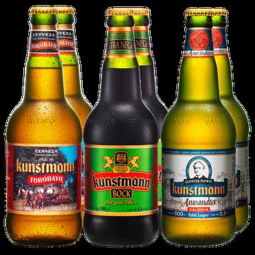 Cerveza Kunstmann.