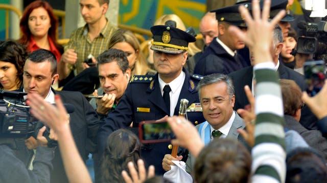 Alfredo Cornejo en la apertura de las Legislativas en Mendoza