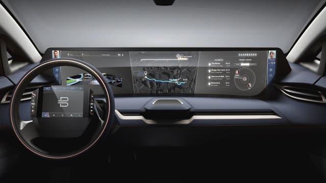 El auto futurista
