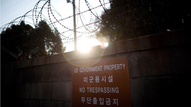 Base Naval de EE.UU en Seúl, Corea del Sur